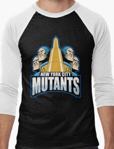 NEW YORK CITY MUTANTS Men's Baseball ¾ T-Shirt