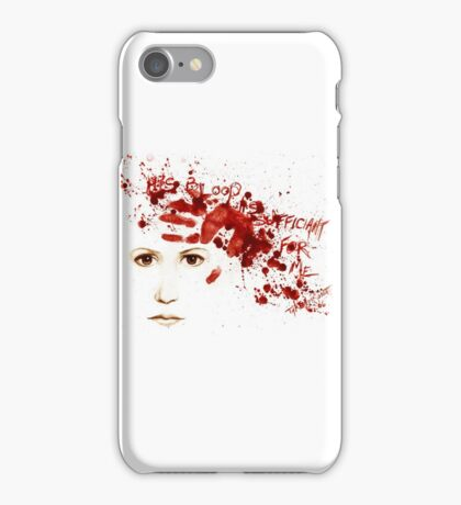 His Blood iPhone Case/Skin