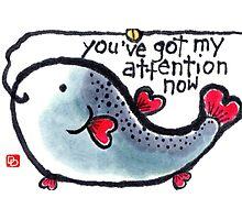 Heart Fish (v.2) Photographic Print