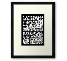 Abstracting the City Framed Print