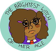 The Brightest Witch Of Her Age Hermione Granger by glitterglue