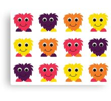 Love Monsters Canvas Print