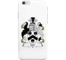 Lee Family Heraldic Shield iPhone Case/Skin