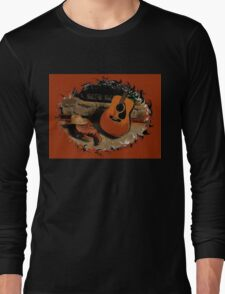 """Leather, Wood, Strings, and Straw""... prints and products Long Sleeve T-Shirt"