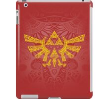 Hyrule Emblem Yellow iPad Case/Skin