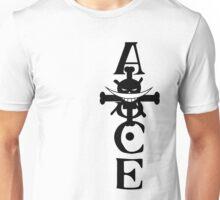 Ace Whitebeard (Black) Unisex T-Shirt