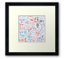 Pantone Cloverfield Framed Print