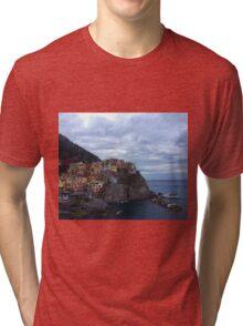 Manarola - Cinque Terre Tri-blend T-Shirt