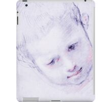 Child's Head shot iPad Case/Skin