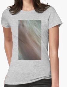 Brush past Womens Fitted T-Shirt