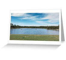 The Driving Range in Florida Greeting Card