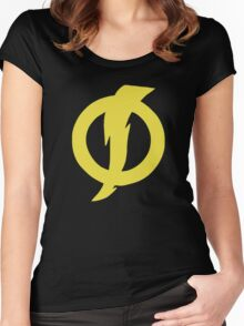 Static Shock  Women's Fitted Scoop T-Shirt