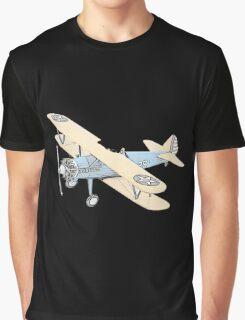 Stearman PT-17 Bi-Plane Graphic T-Shirt