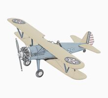 Stearman PT-17 Bi-Plane One Piece - Short Sleeve