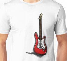 Cherry Red Strat Unisex T-Shirt