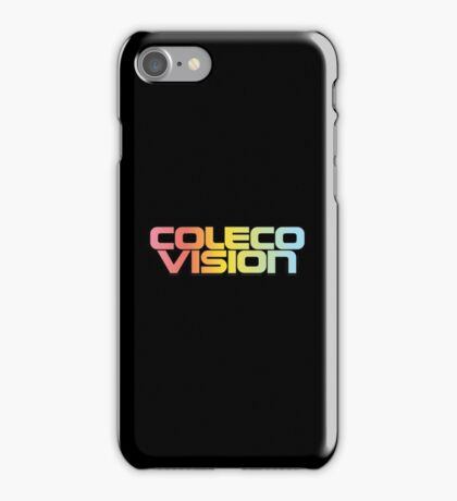 ColecoVision logo iPhone Case/Skin