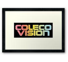 ColecoVision logo Framed Print