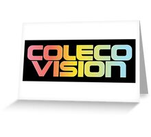 ColecoVision logo Greeting Card