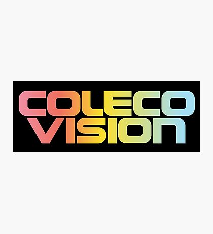 ColecoVision logo Photographic Print