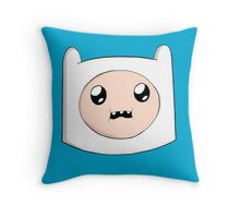 finn the human head Throw Pillow