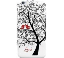 Love Birds in a Tree iPhone Case/Skin