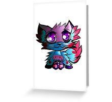 Chibi Kitty Greeting Card