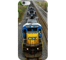 Loaded like a freight train..I'm on the nightrain..Fill my cup ..and I'm ready to crash an' burn  iPhone Case/Skin