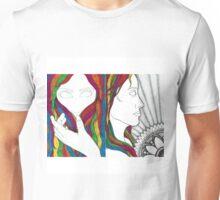 Rainbow Hair  Unisex T-Shirt