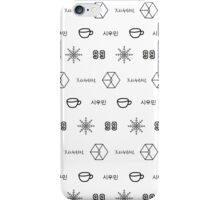 EXO Xiumin Pattern Case iPhone Case/Skin