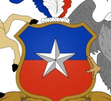 National coat of arms of Chile Sticker