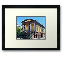 Southern Architecture Framed Print