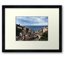 Riomaggiore - Cinque Terre Framed Print