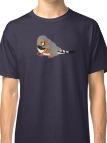 Dino Birds - Zebra Finch Classic T-Shirt