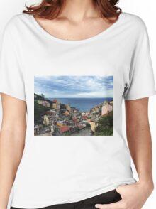 Riomaggiore - Cinque Terre Women's Relaxed Fit T-Shirt