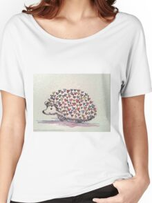 Hedgehog Love  Women's Relaxed Fit T-Shirt