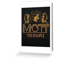 Mott the Hoople Greeting Card