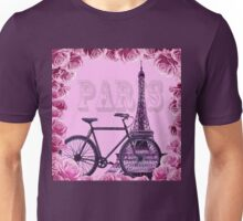 Romantic Ride To Paris Decor Unisex T-Shirt