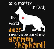German Shepherd - as a matter of Fact... Unisex T-Shirt