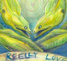 Reel Love Sticker