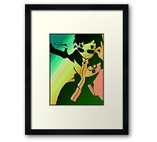 Persona 4 Chie Framed Print
