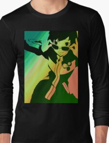 Persona 4 Chie Long Sleeve T-Shirt