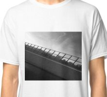Grey Scale Bridge  Classic T-Shirt