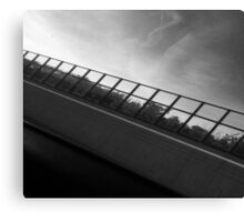 Grey Scale Bridge  Canvas Print