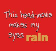 Movies - head-movie makes my eyes rain One Piece - Short Sleeve