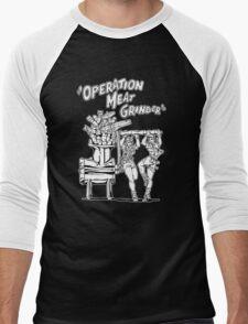 Operation Meat Grinder Men's Baseball ¾ T-Shirt