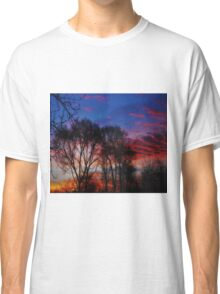 Sunrise Through the Tree's Classic T-Shirt