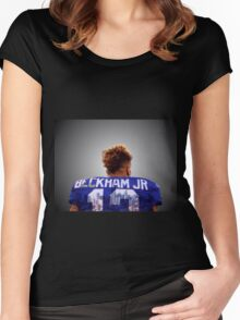 ODEL BECKHAM JR BY ABBIE Women's Fitted Scoop T-Shirt