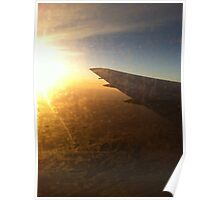 Airplane view Poster