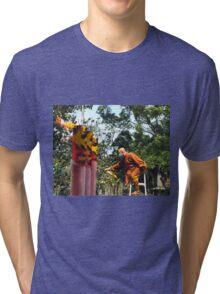 Monk & Flame Tri-blend T-Shirt