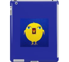 Yellow Bird with Lashes iPad Case/Skin